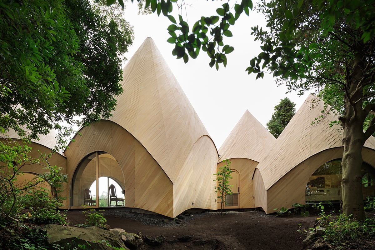 Bellísimo diseño japonés de casas para jubilados