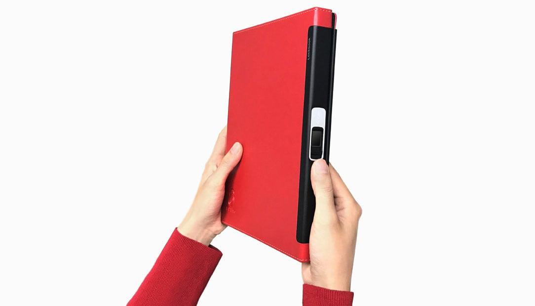Lockbook, la libreta con detector de huellas