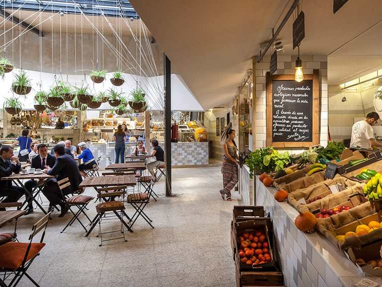 Ruta de restaurantes vegetarianos por Madrid