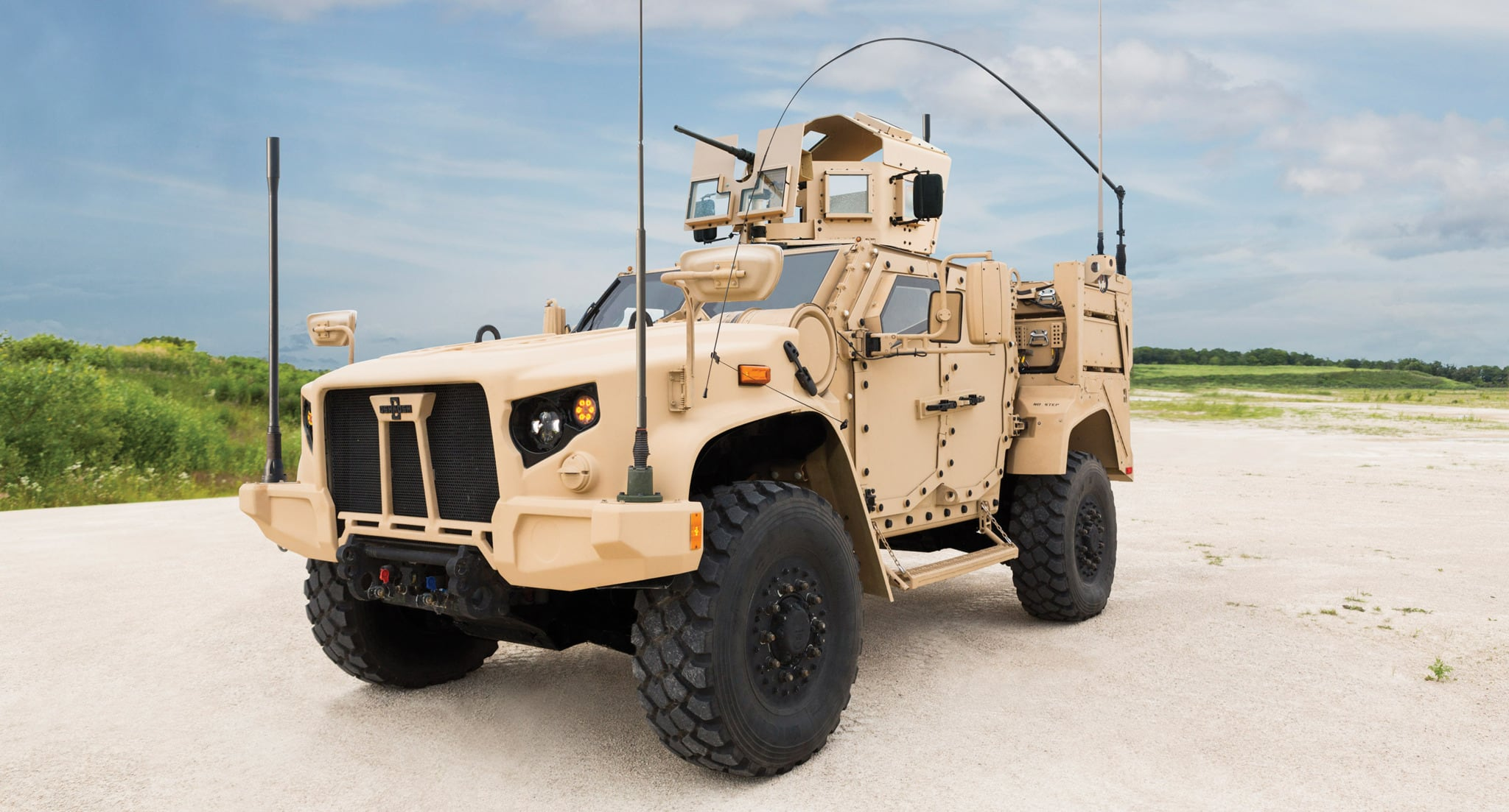 El icónico Humvee tiene sucesor.