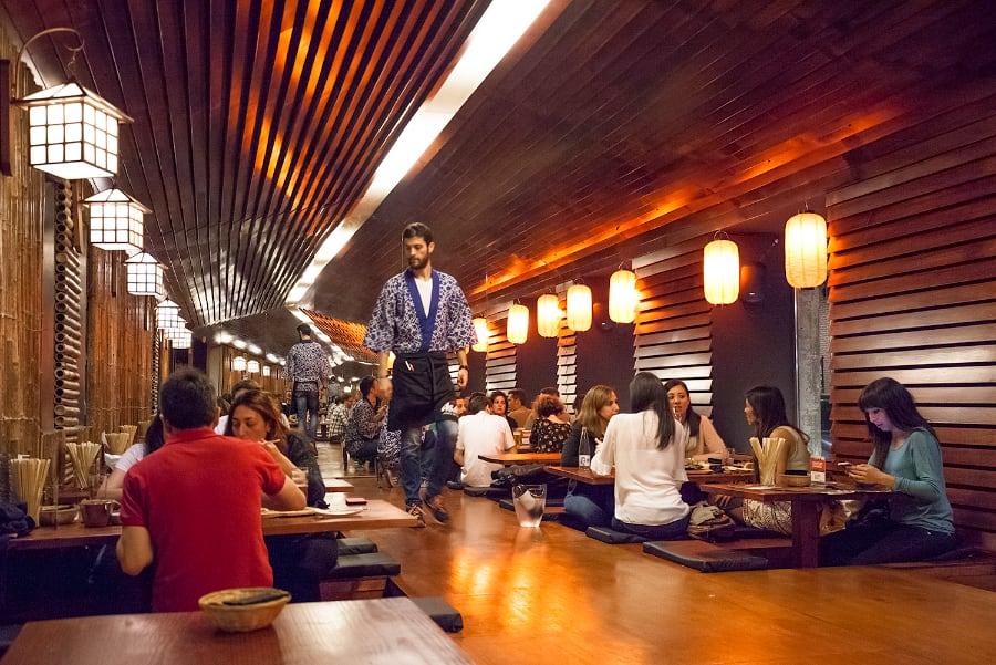 Ruta de restaurantes japoneses en Madrid