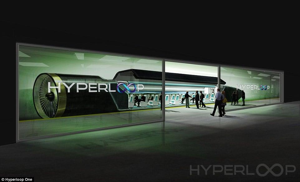 Hyperloop One: Trabajar en Madrid y vivir en Tánger