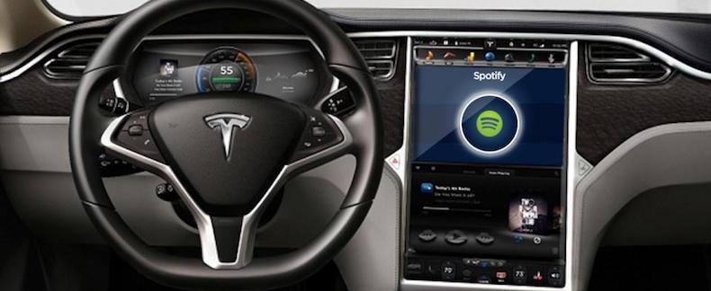 ¿Lanzará Tesla su propio Spotify?