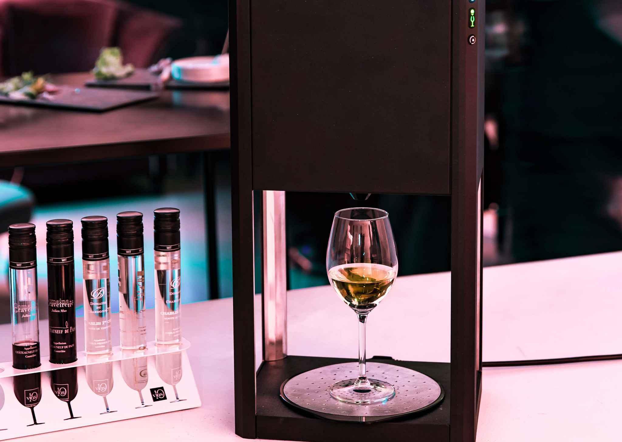 Nace D-Vine, la «Nespresso» del vino