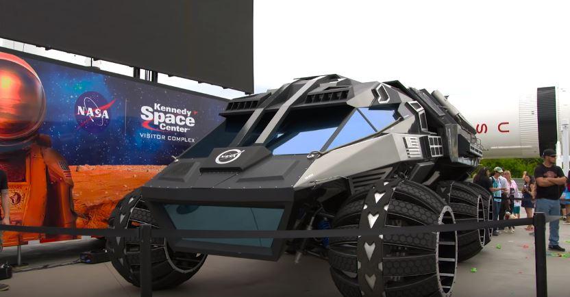 El vehículo del futuro en Marte