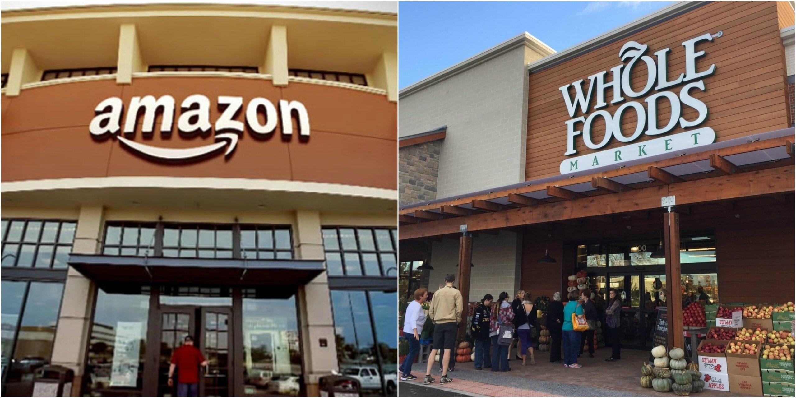 Amazon compra Whole Foods por 13.400 millones de dólares