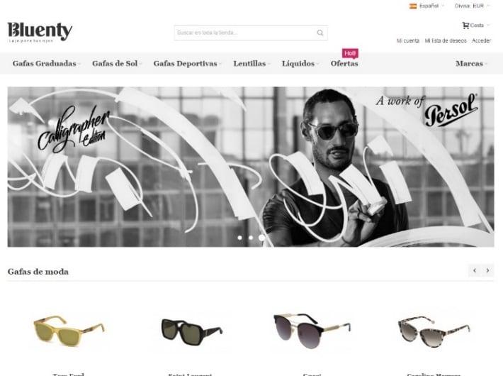 Bluenty: la óptica online de gafas de lujo
