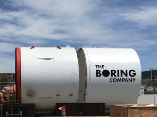 Boring Company muestra sus primeros túneles.