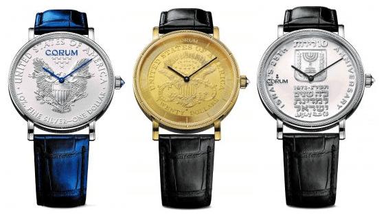 Coin Watch, el reloj de Corum que lucieron presidentes