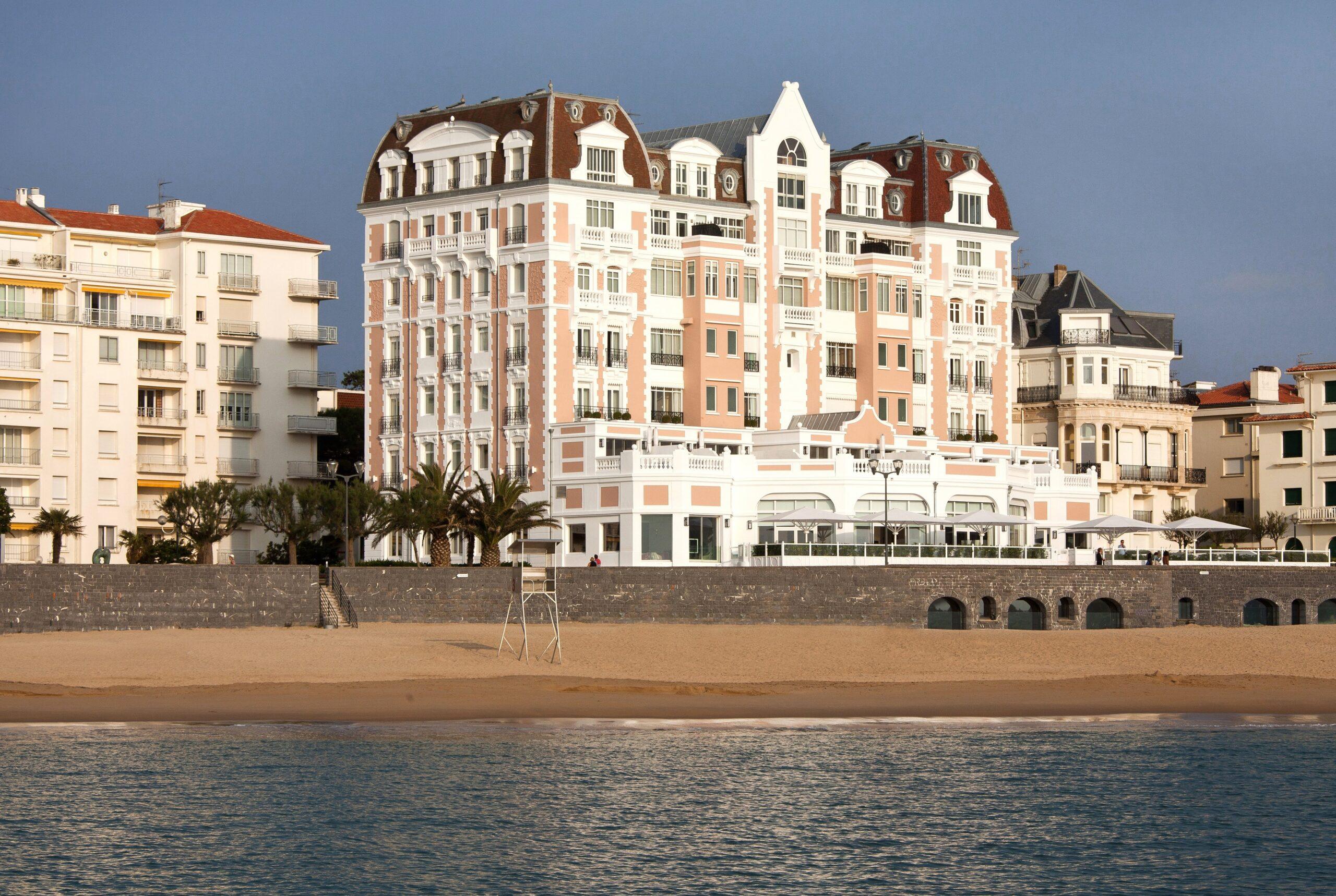 El renacimiento del Grand Hotel de San Juan de Luz
