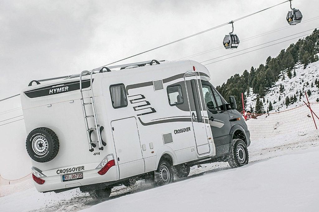 Estaciones de esquí para autocaravanistas