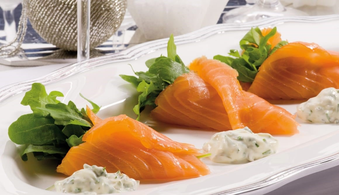 Las 10 «S» del salmón noruego para estas Navidades