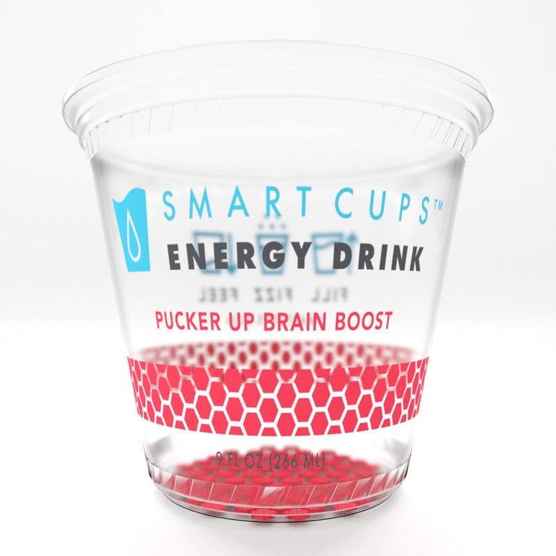 Vasos impresos en 3D convierten el agua en bebida energética