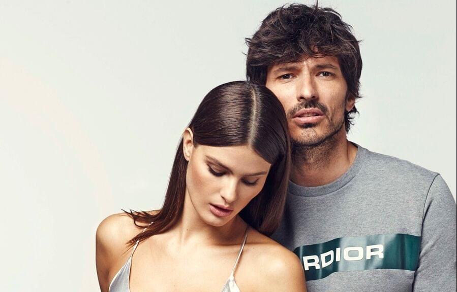 Andrés Velencoso e Isabeli Fontana para Carmela