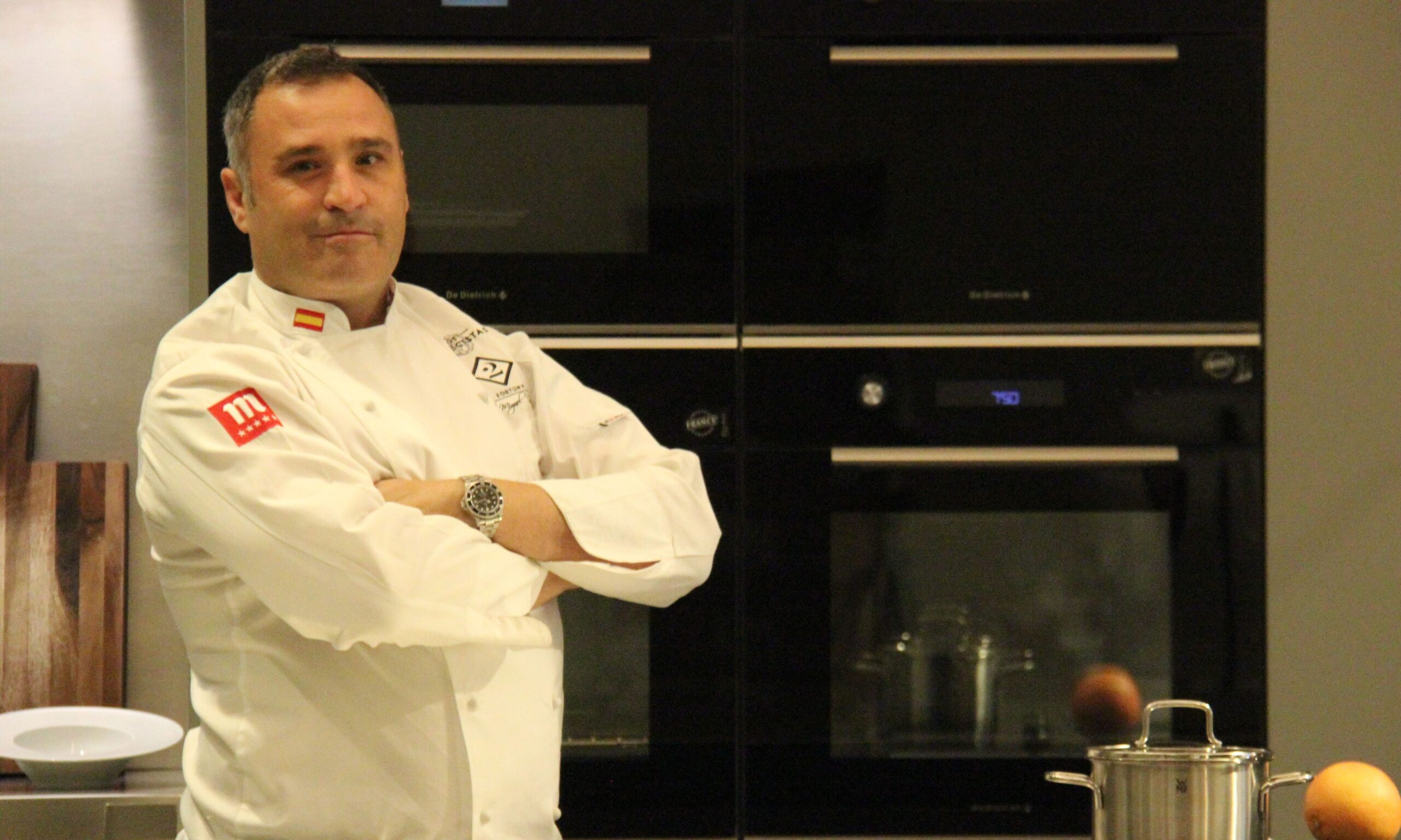 """Chef Miguel García: """"Ahora mismo la alcachofa está por encima del foie"""""""
