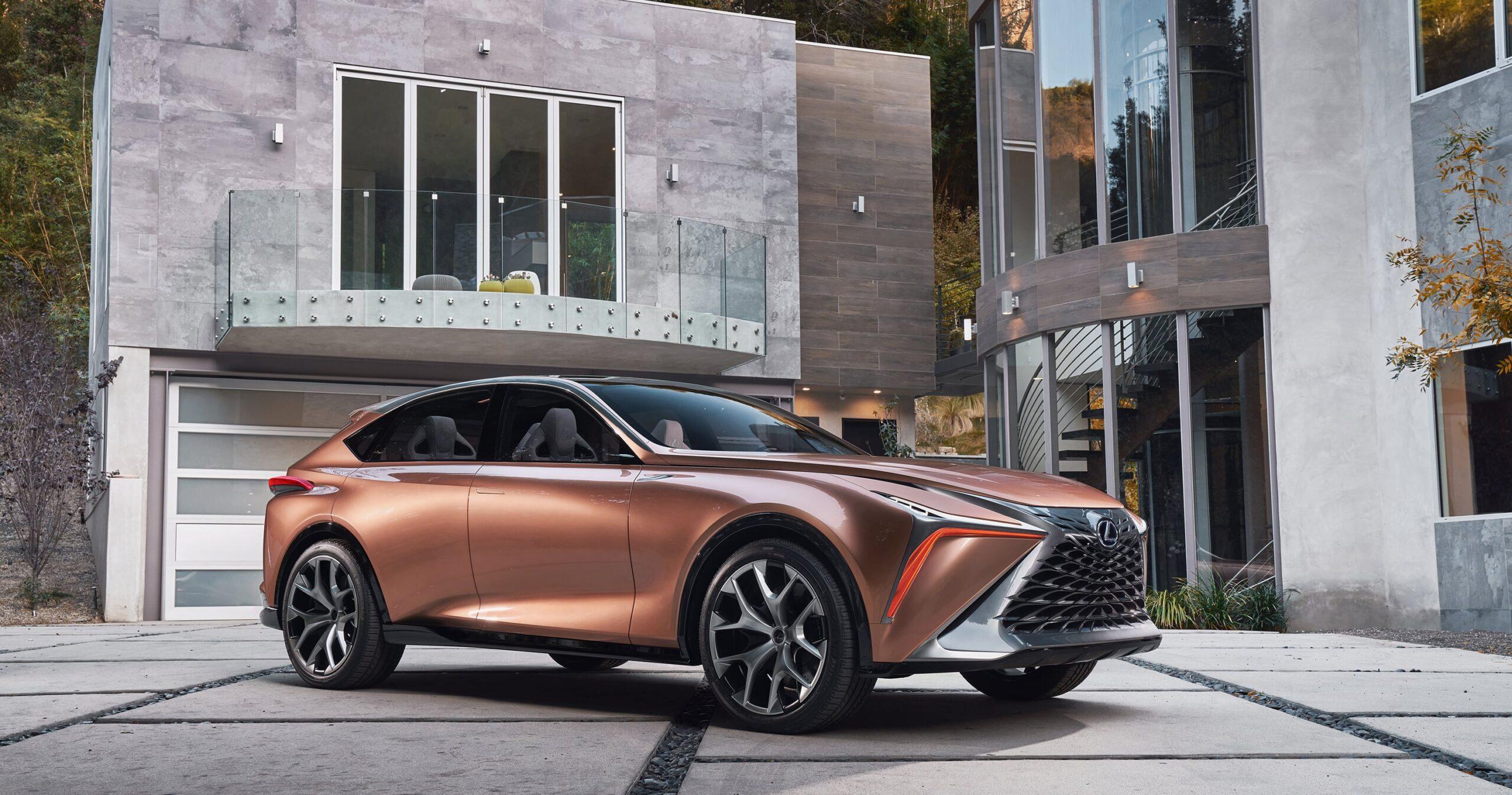 Lexus LF-1 Limitless Concept: una escultura rodante