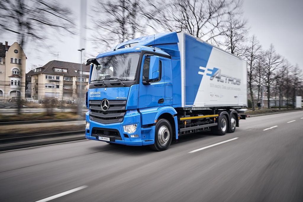 Camiones totalmente eléctricos