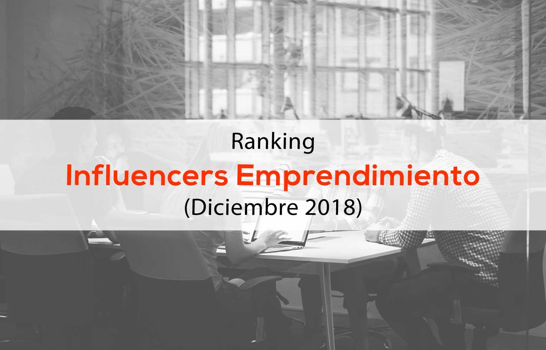 Ranking de influencers emprendimiento