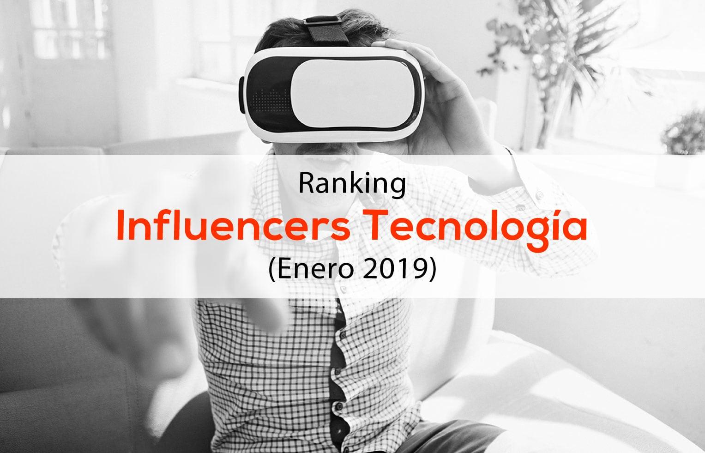 Ranking Influencers tecnología
