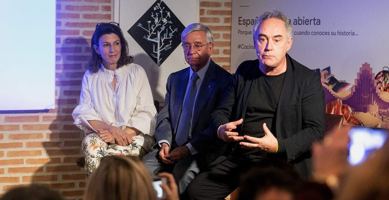 Ferrán Adriá:  La acción de Google «España: cocina abierta» es impagable