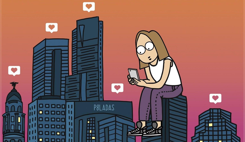 Laura Santolaya (P8ladas): Amor y humor en la era del like