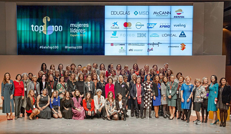 El ranking Top 100 Mujeres Líderes en España desvela las elegidas 2019