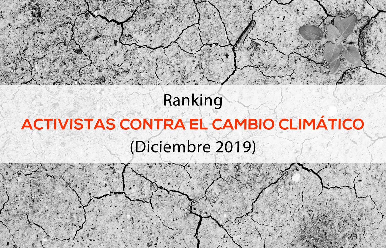 Ranking de influencers contra el cambio climático