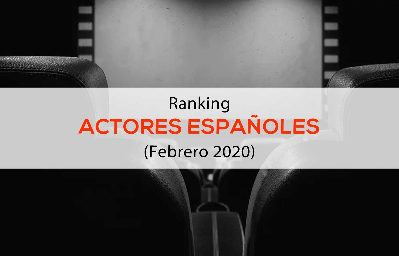 Ranking Actores españoles