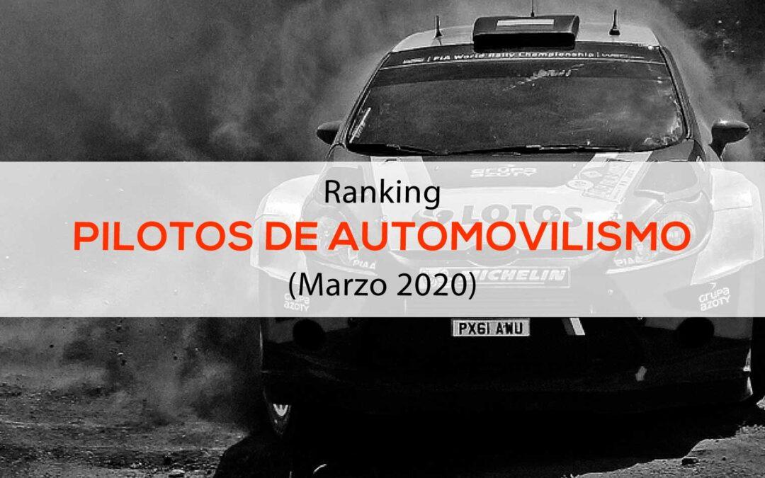 Ranking de Pilotos hispanoparlantes de Automovilismo