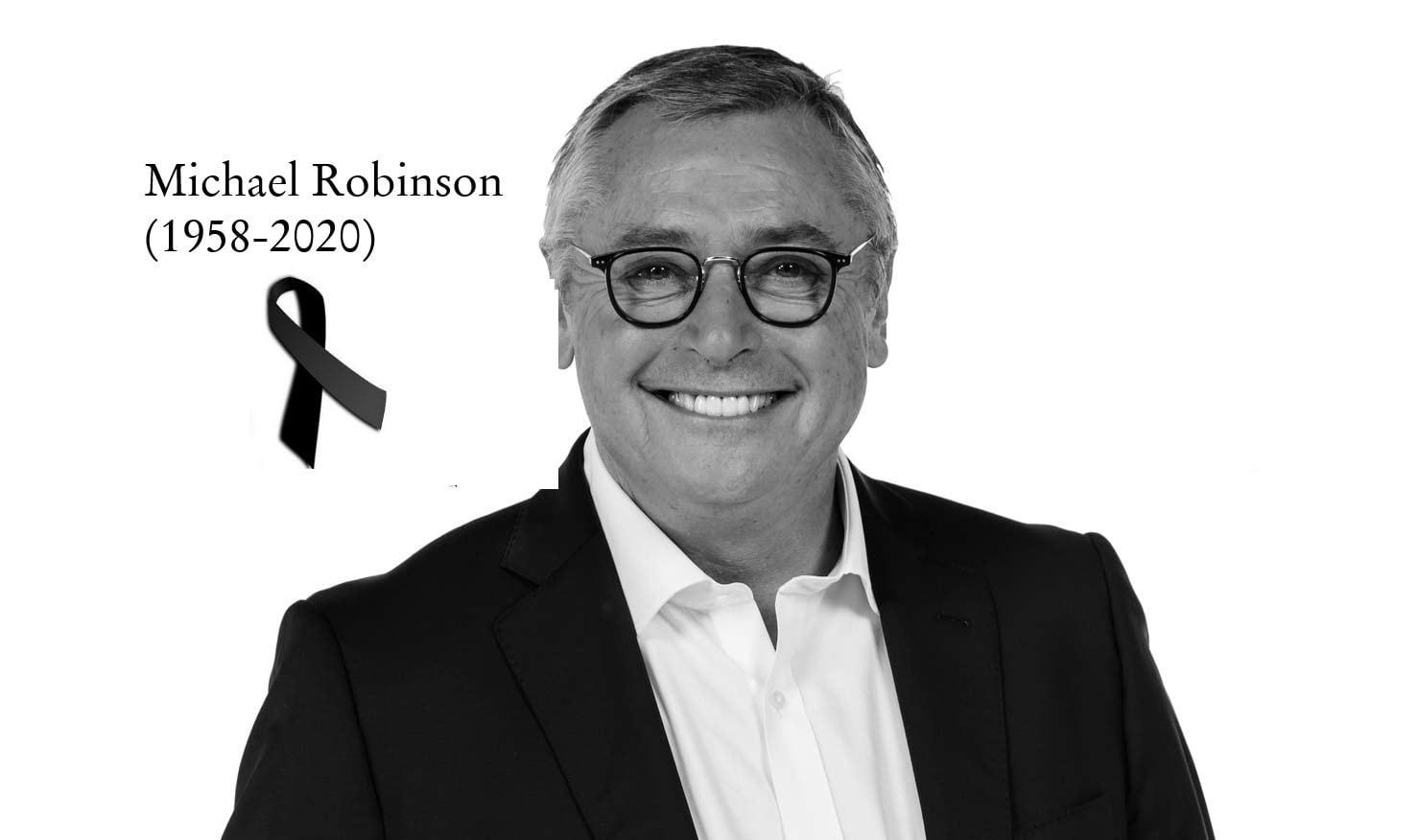 Se fue Michael Robinson, la voz que nos ha acompañado durante las últimas tres décadas