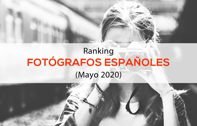 Ranking Fotógrafos Españoles