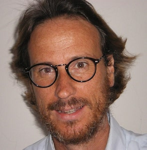 Víctor Küppers durante una conferencia