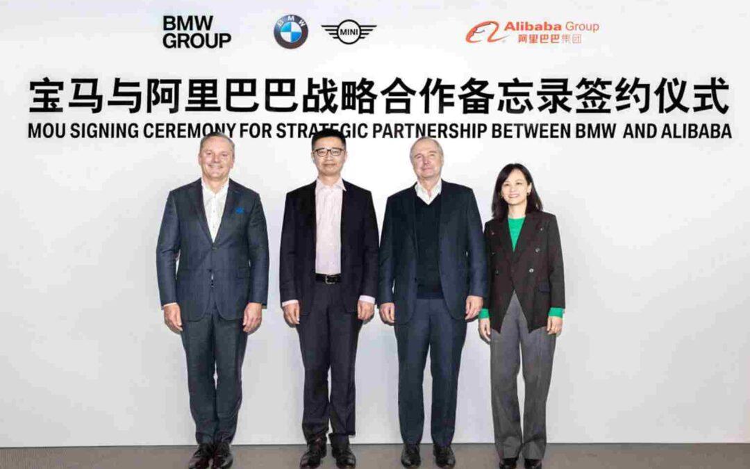 Alibaba y BMW suman fuerzas para la transformación y venta digital