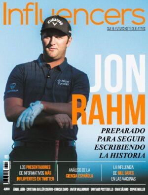 Jon Rahm protagoniza el primer número de 'Influencers' en 2021
