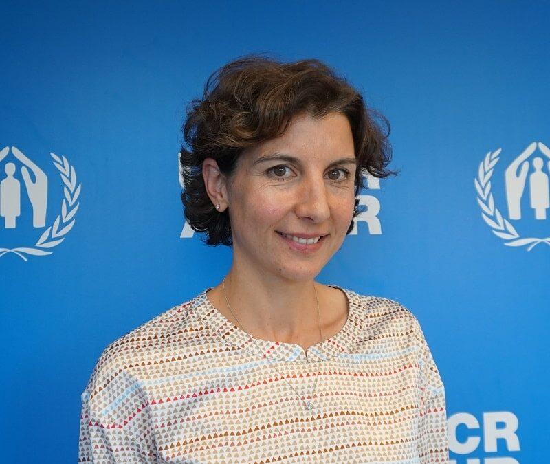 Sophie Muller, representante de ACNUR: «Las soluciones a los problemas humanitarios son soluciones políticas»