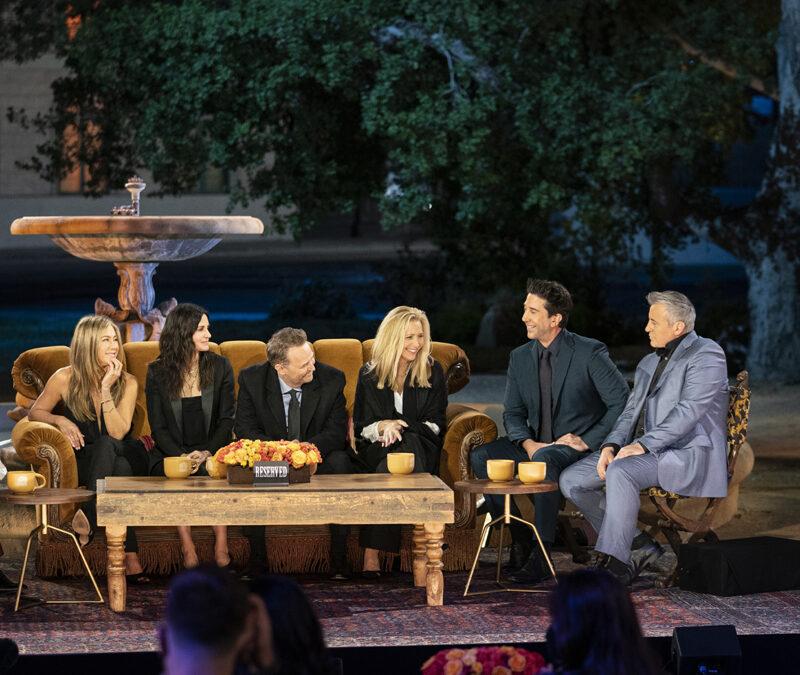 'Friends: The reunion', el 'revival' de la serie de series