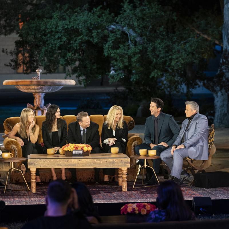 Friends: The Reunion. El elenco original, reunido de nuevo (foto: Terence Patrick).