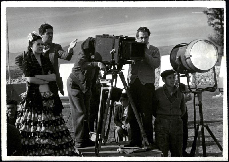 Berlanga. Rodaje de 'El verdugo', 1963 © Filmoteca Española.