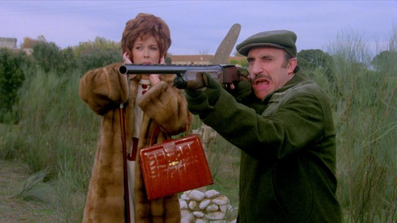 Berlanga. Fotograma de la película La escopeta nacional.
