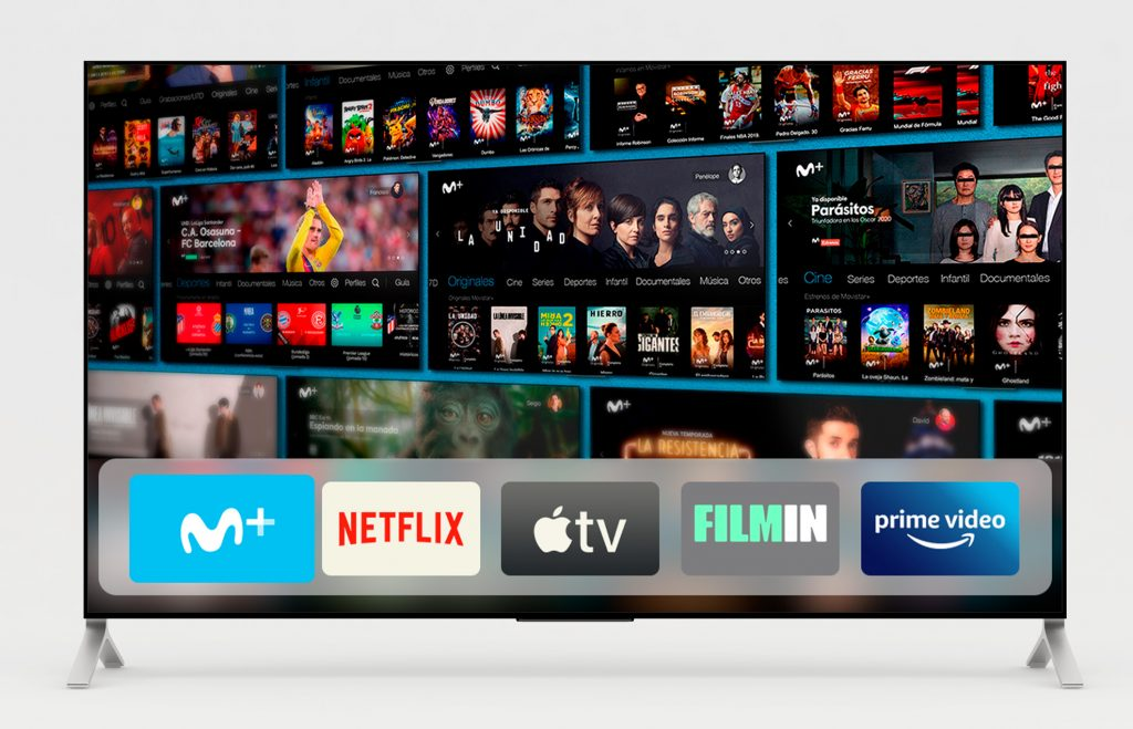 Movistar planea cambiar por completo su concepto de televisión de pago… y podría parecerse a Vodafone