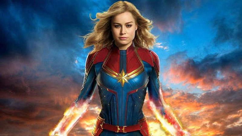 Superheroínas de cine: Capitana Marvel.