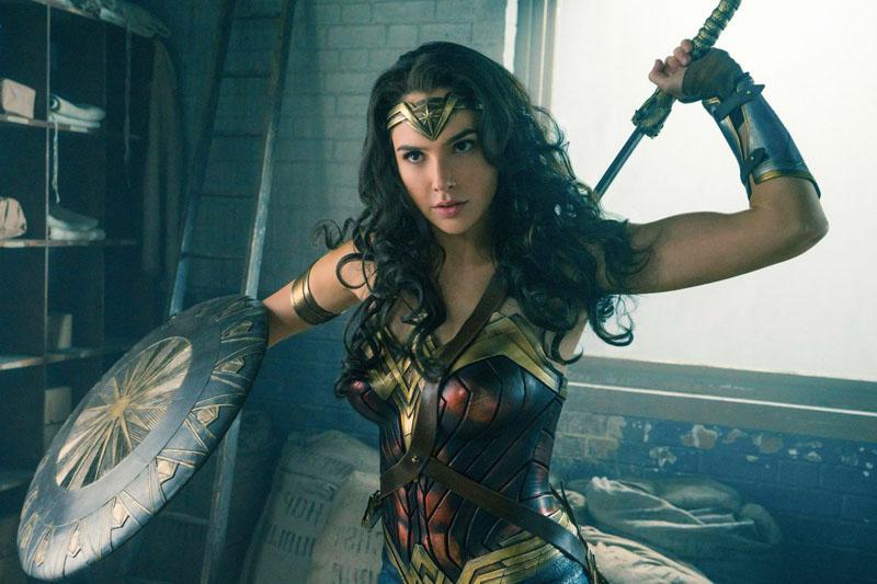 Superheroínas de cine: Wonder Woman.