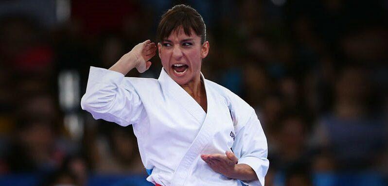 Sandra Sánchez hace historia del deporte en kata